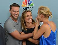 Grey Damon + Michaela McManus + Claire Holt @ the 'season 2 NBC premiere of 'Aquarius' held @ the Paley Center. June 16, 2016