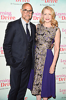 """Stanley Tucci and Patricia Clarkson<br /> arrives for the """"Learning to Drive"""" Gala screening at the Curzon Mayfair, London.<br /> <br /> <br /> ©Ash Knotek  D3126  02/06/2016"""