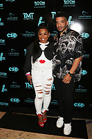 MIAMI, FL - FEBRUARY 19: Kitchie & Jason Lee  attend Floyd Mayweather's 44th futuristic Birthday Party at Casablanca on the Bay on February 19, 2021 in Miami, Florida. Photo Credit: Walik Goshorn/Mediapunch