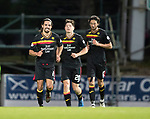 St Johnstone v Partick Thistle…08.08.17… McDiarmid Park.. Betfred Cup<br />Ryan Edwards celebrates his goal<br />Picture by Graeme Hart.<br />Copyright Perthshire Picture Agency<br />Tel: 01738 623350  Mobile: 07990 594431