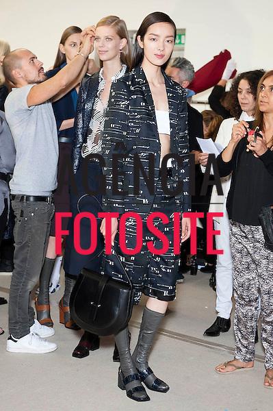 Milao, Itália '09/2014 - Desfile de Jil Sander durante a Semana de moda de Milao  -  Verao 2015. <br /> <br /> Foto: FOTOSITE