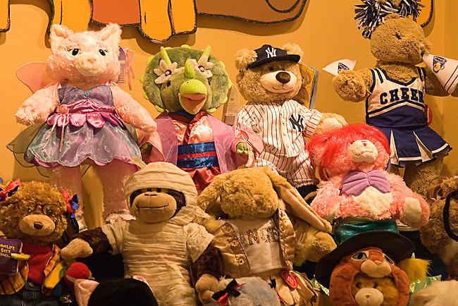 Teddy Bears, Build A Bear, Las Vegas, Nevada