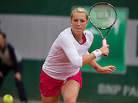 France, Paris, 28.05.2014. Tennis, French Open, Roland Garros, Anastasia Pavlyuchenkova (RUS)<br /> Photo:Tennisimages/Henk Koster