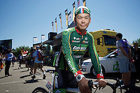 Yukiya Arashiro (JAP/Europcar)<br /> <br /> 2014 Tour de France<br /> stage 12: Bourg-en-Bresse - Saint-Etiènne (185km)