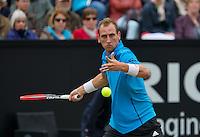 Netherlands, Den Bosch, 19.06.2014. Tennis, Topshelf Open, Thiemo de Bakker (NED)<br /> Photo:Tennisimages/Henk Koster
