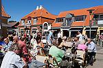 Denmark, Jutland, Skagen: Café along the main street, Sankt Laurentii Vej | Daenemark, Juetland, Skagen: Café am Sankt Laurentii Vej
