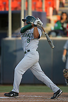 March 27, 2010: Pi`ikea Kitamura of Hawaii during game against Cal. St. Fullerton at Goodwin Field in Fullerton,CA.  Photo by Larry Goren/Four Seam Images