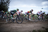 Belgian Champion Tim Melrier (BEL/Corendon Circus) in the peloton riding a off-road section<br /> <br /> Antwerp Port Epic 2019 <br /> One Day Race: Antwerp > Antwerp 187km<br /> <br /> ©kramon