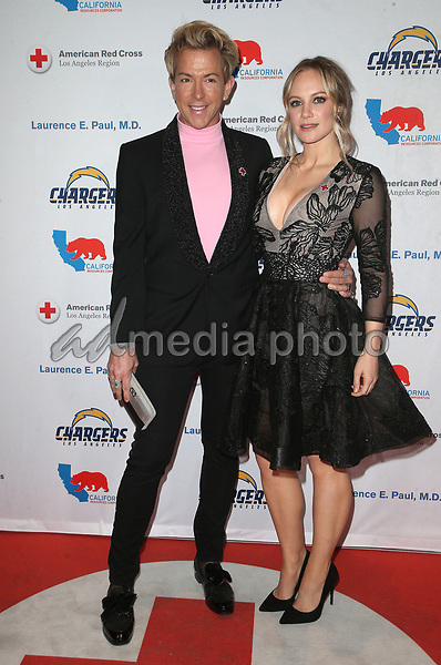 09 March 2018 - Los Angeles, California - Danielle Savre, Guest. American Red Cross Annual Humanitarian Celebration Honoring The LA Chargers at the Skirball Cultural Center. Photo Credit: F. Sadou/AdMedia