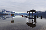 Lake of Caldonazzo, Italy, 10th of December 2020.<br /> © Pierre Teyssot