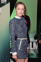 """Saoirse Ronan<br /> arriving for the London Film Festival 2017 screening of """"On Chesil Beach"""" at the Embankment Garden Cinema, London<br /> <br /> <br /> ©Ash Knotek  D3324  08/10/2017"""
