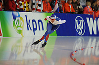 SPEEDSKATING: ERFURT: 19-01-2018, ISU World Cup, 1000m Ladies A Division, Angelina Golikova (RUS), photo: Martin de Jong