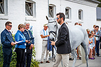 NZL-Clarke Johnstone presents Balmoral Sensation during the CICO3* Horse Inspection for the DHL Preis Eventing. 2018 GER-Weltfest des Pferdesports CHIO Aachen. Thursday 19 July. Copyright Photo: Libby Law Photography