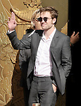 Robert Pattinson attends the  TWILIGHT : Kristen Stewart, Robert Pattinson And Taylor Lautner Hand And Footprint Ceremony held at The Grauman's Chinese Theatre in Hollywood, California on November 3,2011                                                                               © 2011 DVS / Hollywood Press Agency