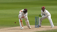 Mark Stoneman of Surrey in batting action during Surrey CCC vs Somerset CCC, LV Insurance County Championship Group 2 Cricket at the Kia Oval on 13th July 2021