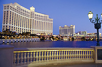 casino, hotel, Las Vegas, Nevada, NV, The Strip, The Bellagio Resort Hotel & Casino in Las Vegas, the Entertainment Capital of the World.