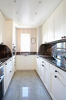 White bright kitchen