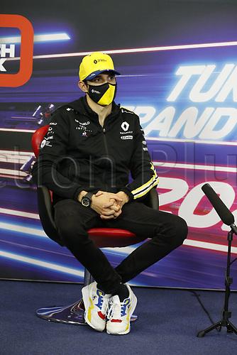 12th November 2020; Istanbul Park, Istanbul, Turkey;   FIA Formula One World Championship 2020, Grand Prix of Turkey, 31 Esteban Ocon FRA, Renault DP World F1 Team pre race press conference