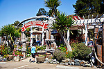 Restaurant on Scenic Highway 1, Central Coast of California