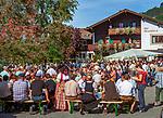 Oesterreich, Tirol, Westendorf (Tirol) im Brixental: Fest anlaesslich des Almabtriebs | Austria, Tyrol, Westendorf (Tyrol) at Brixental: festival return of livestock from high alpine summer pastures