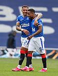 02.05.2121 Rangers v Celtic: James Tavernier and Jermain Defoe