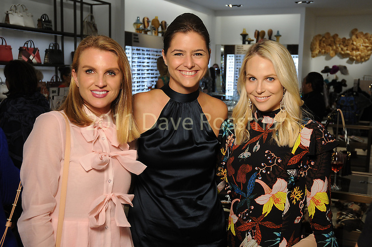 From left: Lindley Arnoldy, Brittany Cassin and Kathleen Jennings at the Saks Fifth Avenue Key to the Cure Wednesday Oct. 26,2016.(Dave Rossman photo)