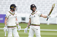 James Bracey, Gloucestershire CCC acknowledges his half century during Middlesex CCC vs Gloucestershire CCC, LV Insurance County Championship Group 2 Cricket at Lord's Cricket Ground on 7th May 2021