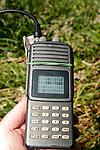 Wood turtle Telemetry receiver, vertical.