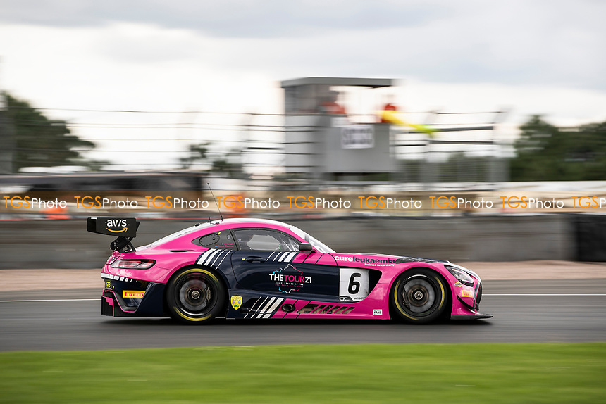 Ian Loggie & Yelmer Buurman, Mercedes AMG GT3, RAM Racing took second place in the GT3 race during the British GT & F3 Championship on 11th July 2021