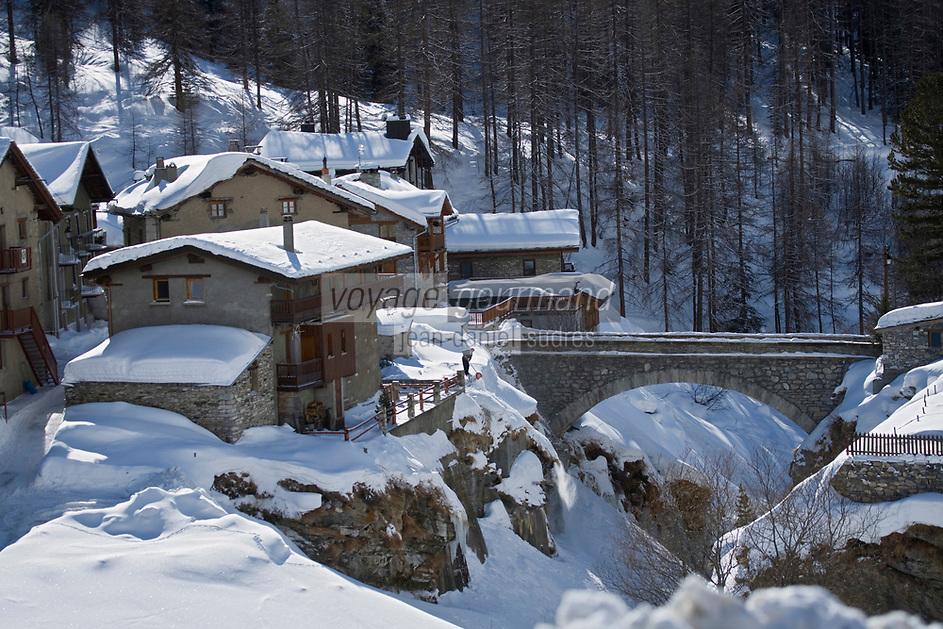 Europe/France/73/Savoie/Val d'Isère: Hameau du Fornet