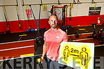 Leonard Foley of Pro Fitness Tralee who is re-opening the gym after the lockdown.