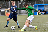Jonty Roubos of the Wairarapa United scores a goal during the Central League Football -  North Wellington FC v Wairarapa United at Alex Moore Park ( Alex Moore Artificial), Johnsonville, New Zealand on Saturday 29 May 2021.<br /> Copyright photo: Masanori Udagawa /  www.photosport.nz