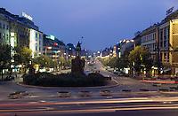 Wenzelsplatz, Prag, Tschechien, Unesco-Weltkulturerbe