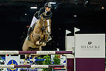 Pilar Lucrecia Cordon of Spain riding Coriana van Klapscheut competes during the EEM Trophy, part of the Longines Masters of Hong Kong on 10 February 2017 at the Asia World Expo in Hong Kong, China. Photo by Juan Serrano / Power Sport Images