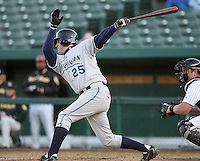 April 4, 2008:  West Michigan Whitecaps designated hitter Cory Middleton (20) at bat against the South Bend SilverHawks at Coveleski Stadium in South Bend, IN.  Photo by: Chris Proctor/Four Seam Images