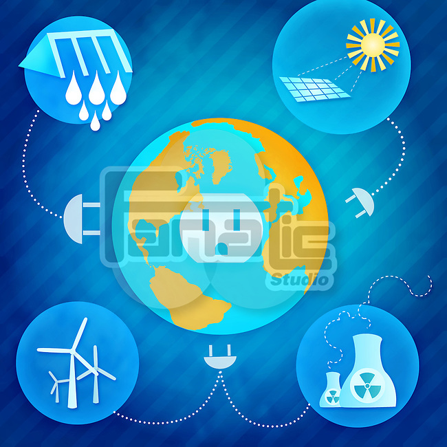 Resources of electricity production