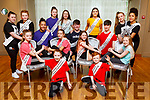 The members of the Tralee Musical Society at their 'Strictly Young Dancing' fundraiser launch in the Ballyroe Heights Hotel on Saturday which is being held on February 9th in Ballyroe Hotel. <br /> Front l to r; Aine Fitzmaurice and Liam Duffy.<br /> Seated l to r: Eimer Enright, Abby Mulvihill, Evelyn McElligott and Molly Costello.<br /> Back l to r: Ellie Flynn, Ciara Mahoney, Michael Everett, Ruby Ryle, Ella Smith, Jack McElligott, Sorcha Ringland, Matthew Dineen, Eliza Brown and Ellis Mulumba.