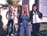 Runaways 1978 Sandy West, Vicki Blue, Lita Ford, Joan Jett..© Chris Walter..
