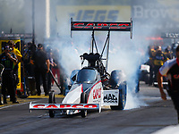 Sep 2, 2017; Clermont, IN, USA; NHRA top fuel driver Steve Torrence during qualifying for the US Nationals at Lucas Oil Raceway. Mandatory Credit: Mark J. Rebilas-USA TODAY Sports