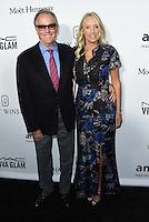 Peter Fonda + wife Parky @ the 2016 amfAR's Inspiration Gala held @ the Milk studios.<br /> October 27, 2016 , Los Angeles, USA. # SOIREE 'AMFAR'S INSPIRATION GALA 2016' A LOS ANGELES