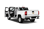 Car images of 2016 Chevrolet Colorado Work-Truck-Crew 4 Door Pick-up Doors