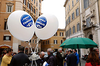 Rome April 4th 2019. Demonstration of the People of Family. People of Family is a social conservative political movement in Italy.<br /> photo di Samantha Zucchi/Insidefoto