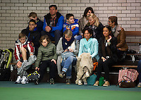 Rotterdam, The Netherlands, 07.03.2014. NOJK ,National Indoor Juniors Championships of 2014, Parents and coaches<br /> Photo:Tennisimages/Henk Koster