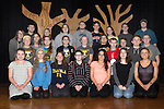 "March 2, 2017- Tuscola, IL- The TCHS Drama Club cast for their upcoming spring musical ""Into The Woods"". Standing from left are Will Penne, Connor Baer, Katie Smith, Emily Kemp, Bridget Spillman, Chase Robinson, Eric Brewer, Hannah Dellorso, Matthew Griffith, and Parker Taylor. Middle row from left are Morgan Day, Anna Spillman, Caroline Rominger, Ashton Smith, Gabby Ainsworth, Paul Nau, J.D. Barrett, Zane Greem, and Jacob Craddock. Front row from left are Sydney Hoel, Alexis Nau, Whitney Root, Kelly Kennedy, Hannah Saril, Isabel Miller, and Ashley Mattingly. (Not Pictured: Sabrina Alcorn, Isaac Farlow, and Robert Steepleton). [Photo: Douglas Cottle]"