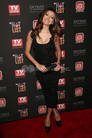 WEST HOLLYWOOD, CA - NOVEMBER 12:  Noureen DeWulf at TV Guide Magazine's 2012 Hot List Party at SkyBar at the Mondrian Los Angeles on November 12, 2012 in West Hollywood, California. Credit: mpi21/MediaPunch Inc.
