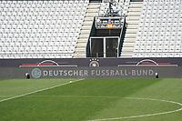 EM Motto im Stadion in Innsbruck, wo das Spiel unter Ausschluss der Öffentlichkeit stattfindet - Innsbruck 01.06.2021: Abschlusstraining Deutsche Nationalmannschaft