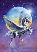 Interlitho, Lorenzo, FANTASY, paintings, unicorn, globe, KL, KL3727,#fantasy# illustrations, pinturas