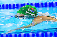 01 AUG 2012 - LONDON, GBR - Suzaan van Biljon (RSA) of South Africa races during her women's 200m Breaststroke heat during the morning session of the London 2012 Olympic Games Swimming at the Aquatic Centre in the Olympic Park, in Stratford, London, Great Britain .(PHOTO (C) 2012 NIGEL FARROW)