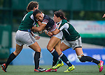Portugal vs Hong Kong during the Day 1 of the IRB Women's Sevens Qualifier 2014 at the Skek Kip Mei Stadium on September 12, 2014 in Hong Kong, China. Photo by Aitor Alcalde / Power Sport Images