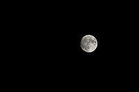 Calcio, Serie A: Frosinone-Juventus, Benito Stirpe stadium, Frosinone, September 23, 2018. <br /> The moon in the sky before the Italian Serie A football match between Frosinone and Juventus at Frosinone stadium on September 23, 2018.<br /> UPDATE IMAGES PRESS/Isabella Bonotto